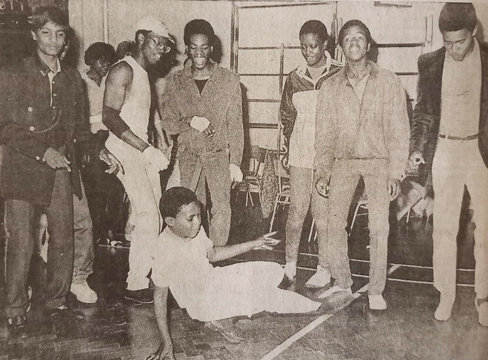 photo of people dancing | West Herts and Watford Observer, 29 June 1984