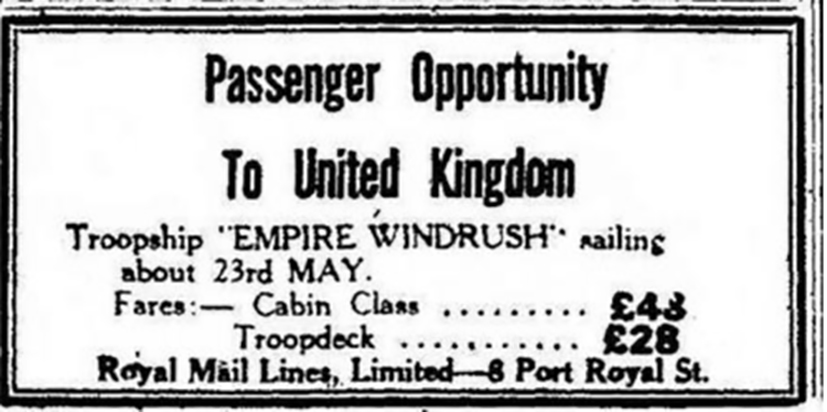 advert | Daily Gleaner, 13 April 1948