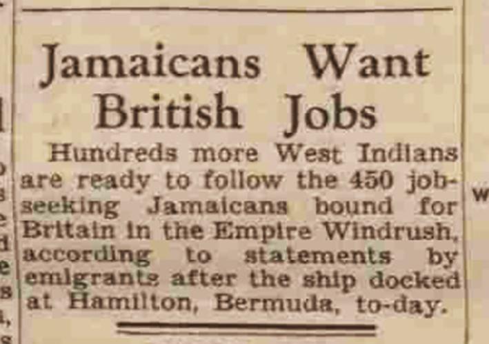 newspaper report | Derby Daily Telegraph, 10 June 1948
