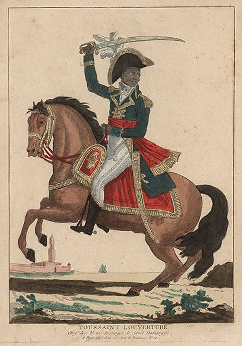 Image of Toussaint L'ouverture, leader of the Haitian rebellion