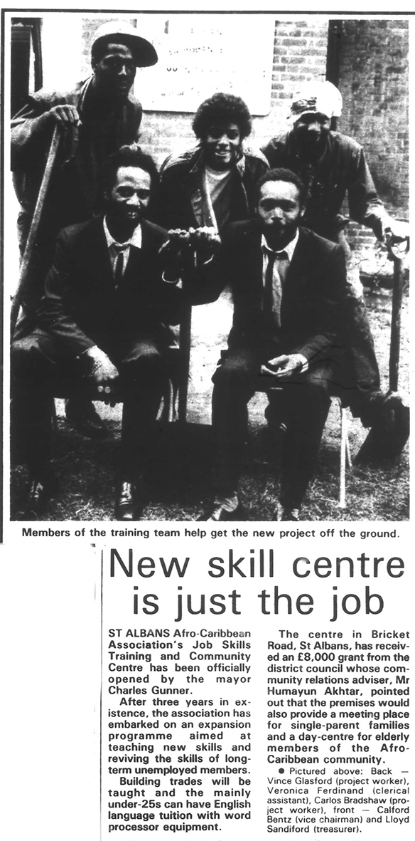 Opening of the new centre | Herts Advertiser, 10 August 1987
