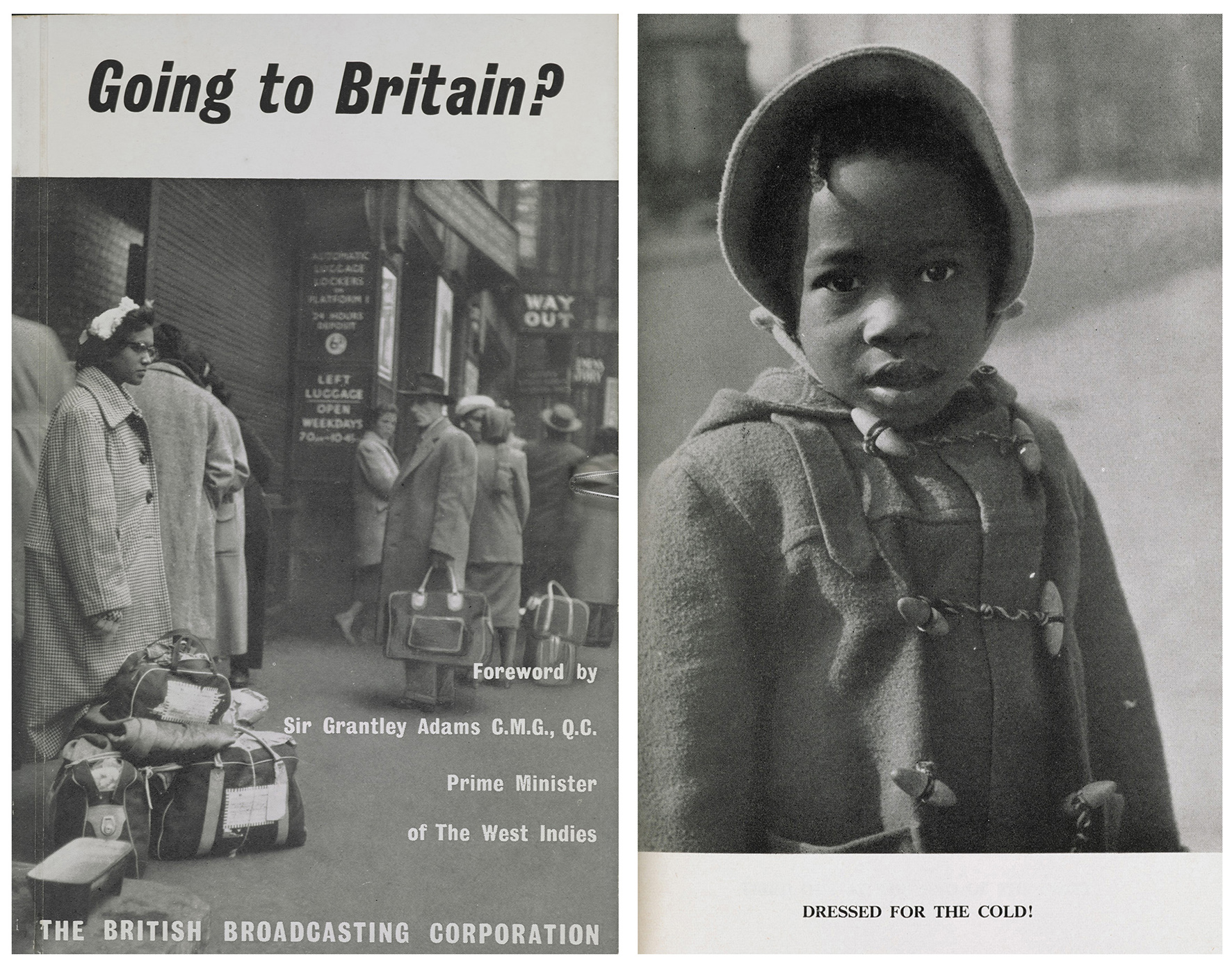 Going to Britain booklet | © BBC. British Library