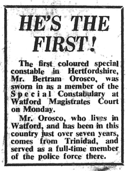 Newspaper report | West Herts and Watford Observer, 1 January 1965