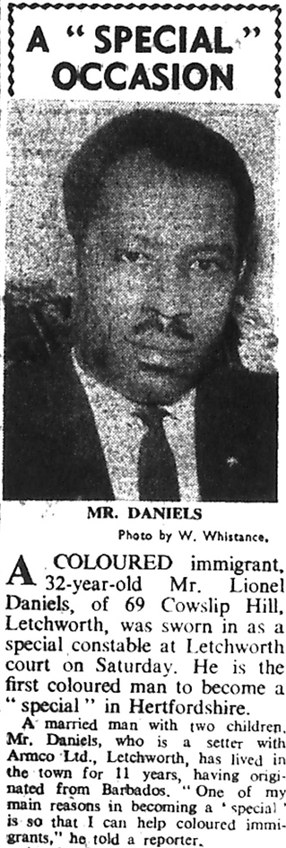 Photo of Lionel Daniels | Herts and Beds Citizen, 24 March 1967