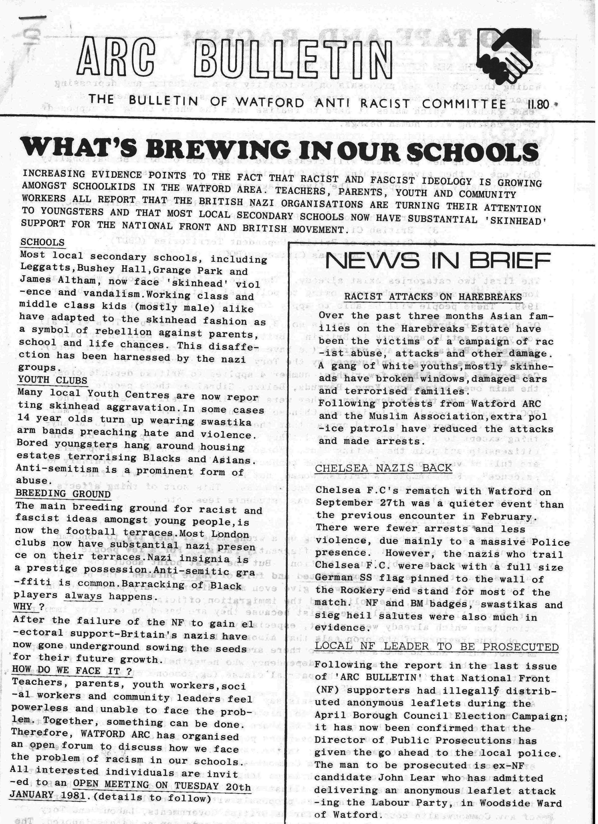 page of ARC newsletter | HALS (DE/Do/22)